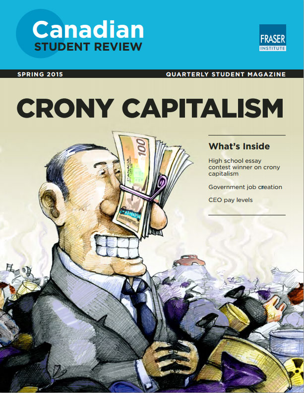 crony capitalism essay contest The big picture – threat of crony capitalism: can it be curbed by insights february 8, 2015 previous story insights essay challenge – 2015: week – 6.