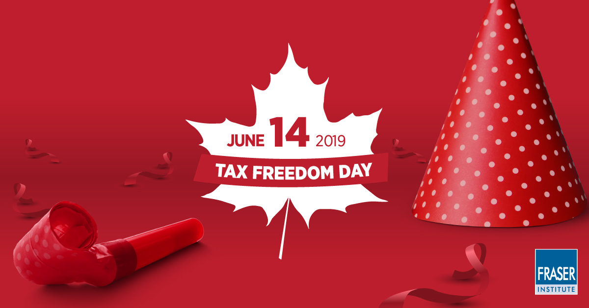 June 14 is Tax Freedom Day in Canada—but don't pop the champagne yet