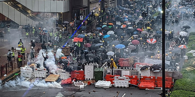 Hong Kong—withstanding the attack