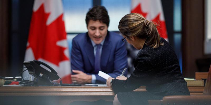 Trudeau government should scuttle stimulus spending plans