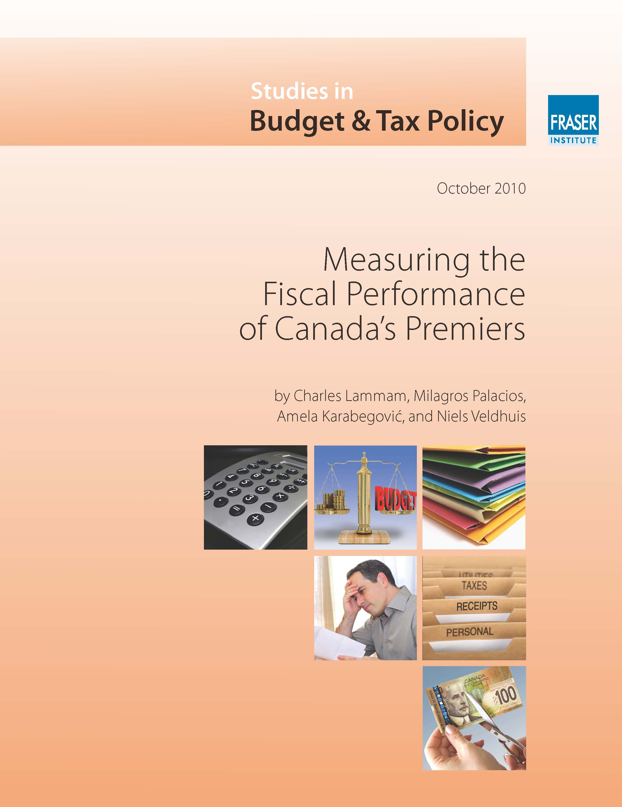 Measuring the Fiscal Performance of Canada's Premiers