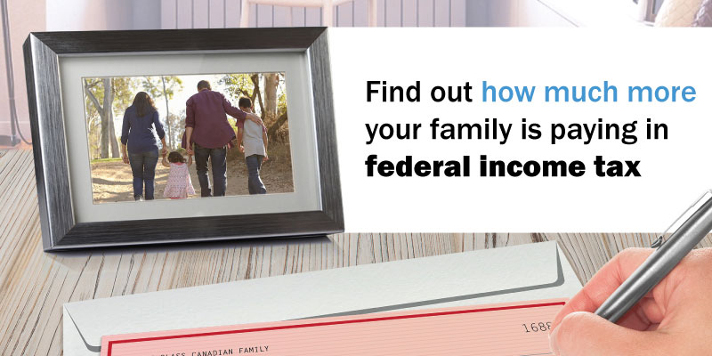 Measuring the Impact of Federal Personal Income Tax Changes on Middle Income Canadian Families
