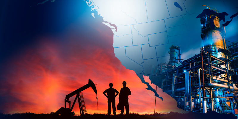 Effective Tax and Royalty Rates on New Investment in Oil and Gas after Canadian and American Tax Reform