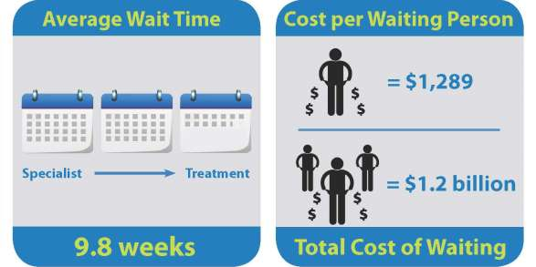 Private Cost of Public Queues for Medically Necessary Care