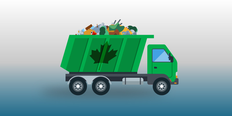 Generation and Management of Municipal Solid Waste: How's Canada Doing?