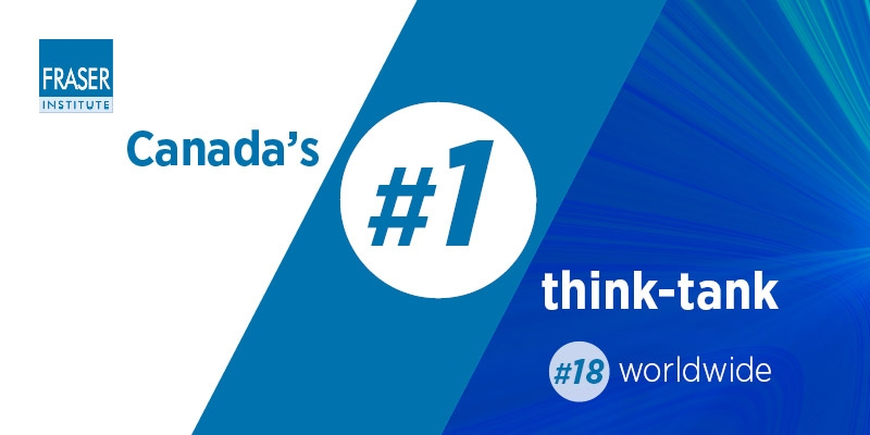 Fraser Institute ranked top think-tank in Canada