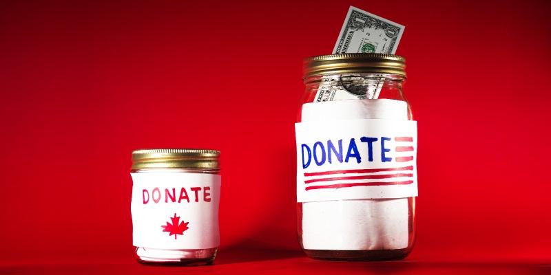 Generosity in Canada and the United States: The 2016 Generosity Index