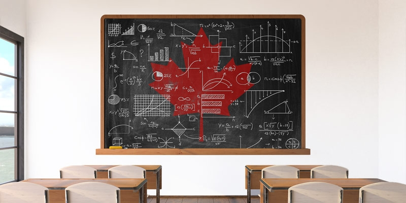 Math Performance in Canada