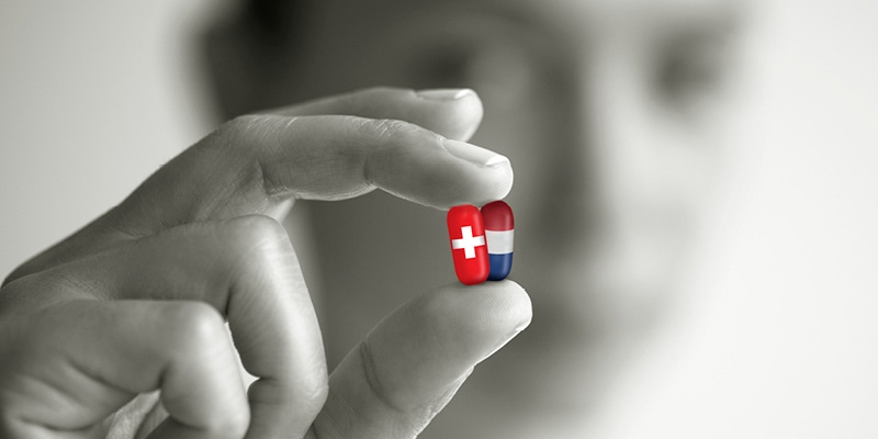 Universal Insurance for Pharmaceuticals in Switzerland and the Netherlands