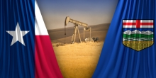 One Energy Boom, Two Approaches: Fiscal Restraint Has Left Texas in Better Shape than Alberta