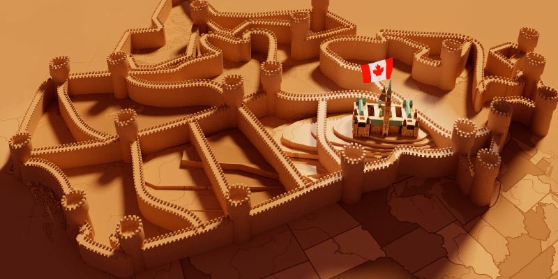 Walled from Competition: Measuring Protected Industries in Canada